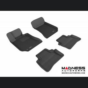 Mercedes Benz E-Class (W212) Sedan Floor Mats (Set of 4) - Black by 3D MAXpider