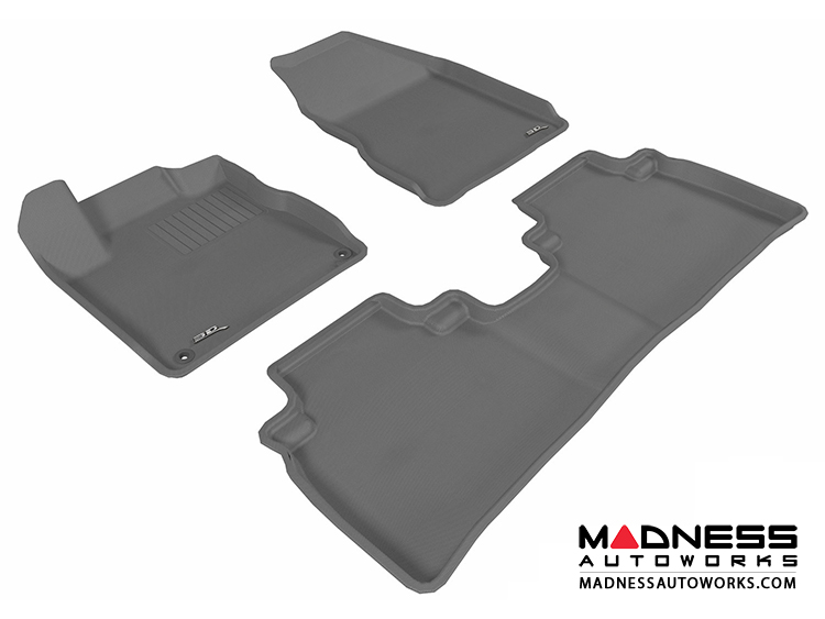 Nissan Murano Floor Mats (Set Of 3)   Gray By 3D MAXpider
