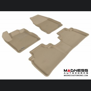 Nissan Murano Floor Mats (Set of 3) - Tan by 3D MAXpider