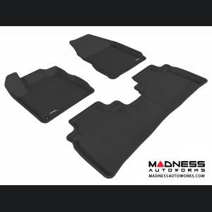 Nissan Murano Floor Mats (Set of 3) - Black by 3D MAXpider