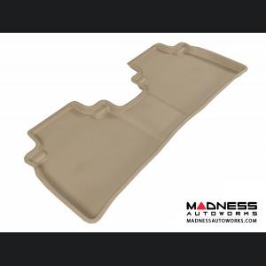 Nissan Murano Floor Mat - Rear - Tan by 3D MAXpider