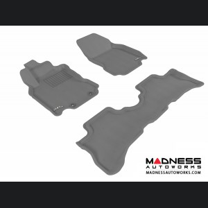 Nissan Cube Floor Mats (Set of 3) - Gray by 3D MAXpider