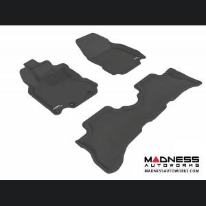 Nissan Cube Floor Mats (Set of 3) - Black by 3D MAXpider