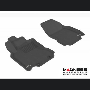 Nissan Cube Floor Mats (Set of 2) - Front - Black by 3D MAXpider