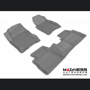 Nissan Rogue Floor Mats (Set of 3) - Gray by 3D MAXpider