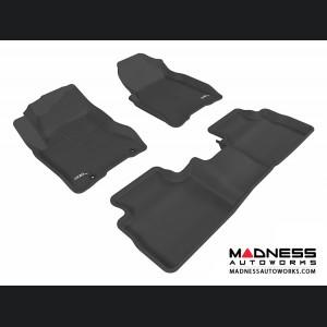 Nissan Rogue Floor Mats (Set of 3) - Black by 3D MAXpider