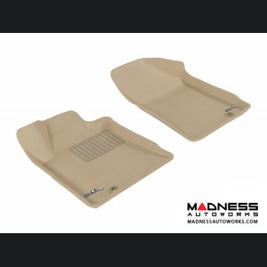 Nissan Maxima Floor Mats (Set of 2) - Front - Tan by 3D MAXpider