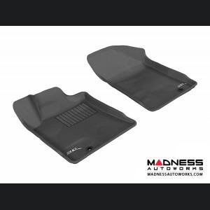Nissan Maxima Floor Mats (Set of 2) - Front - Black by 3D MAXpider
