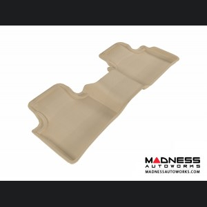 Nissan Maxima Floor Mat - Rear - Tan by 3D MAXpider