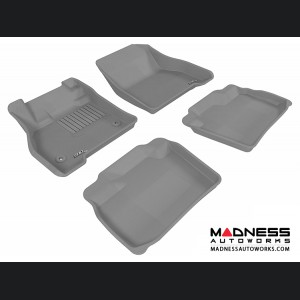 Nissan Leaf Floor Mats (Set of 4) - Gray by 3D MAXpider