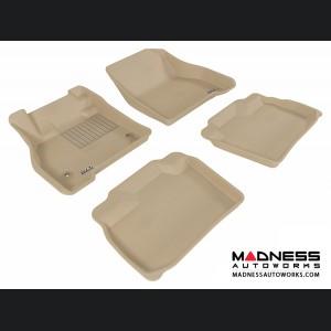 Nissan Leaf Floor Mats (Set of 4) - Tan by 3D MAXpider