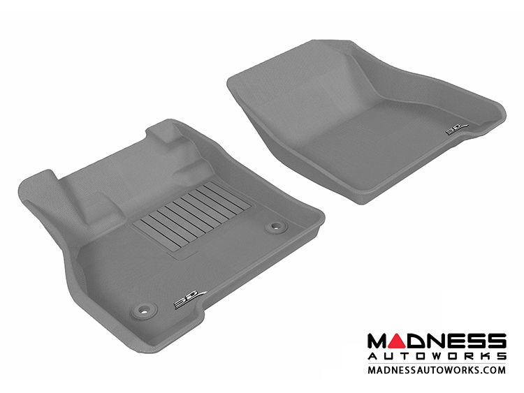 Nissan Leaf Floor Mats (Set of 2) - Front - Gray by 3D MAXpider