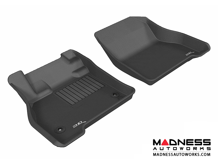Nissan Leaf Floor Mats (Set of 2) - Front - Black by 3D MAXpider