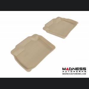 Nissan Leaf Floor Mats (Set of 2) - Rear - Tan by 3D MAXpider