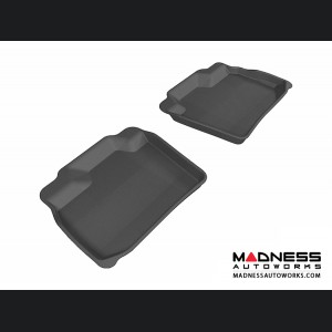 Nissan Leaf Floor Mats (Set of 2) - Rear - Black by 3D MAXpider