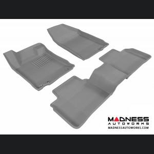 Nissan Altima Sedan Floor Mats (Set of 3) - Gray by 3D MAXpider