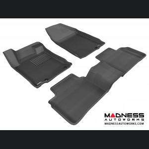 Nissan Altima Sedan Floor Mats (Set of 3) - Black by 3D MAXpider