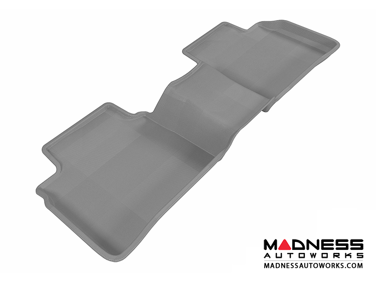 Nissan Altima Sedan Floor Mat - Rear - Gray by 3D MAXpider