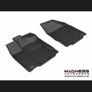 Infiniti JX Floor Mats (Set of 2) - Front - Black by 3D MAXpider