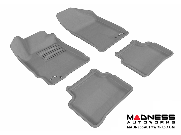 Nissan Altima Floor Mats (Set of 4) - Gray by 3D MAXpider