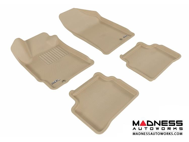 Nissan Altima Floor Mats (Set of 4) - Tan by 3D MAXpider