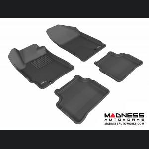 Nissan Altima Floor Mats (Set of 4) - Black by 3D MAXpider