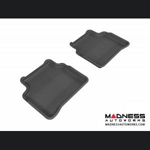 Nissan Altima Sedan Floor Mats (Set of 2) - Rear - Black by 3D MAXpider