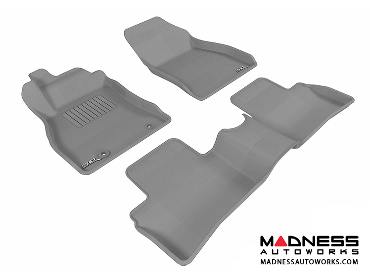 Nissan Juke Floor Mats (Set of 3) - Gray by 3D MAXpider