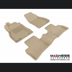 Nissan Juke Floor Mats (Set of 3) - Tan by 3D MAXpider