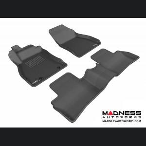 Nissan Juke Floor Mats (Set of 3) - Black by 3D MAXpider