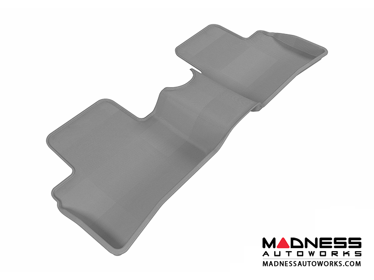 Nissan Juke Floor Mat - Rear - Gray by 3D MAXpider