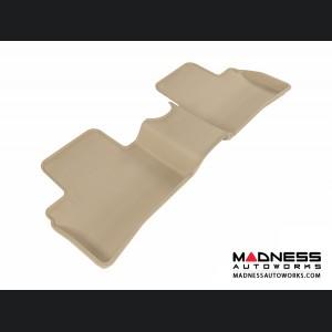 Nissan Juke Floor Mat - Rear - Tan by 3D MAXpider