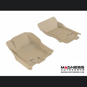 Nissan Xterra Floor Mats (Set of 2) - Front - Tan by 3D MAXpider