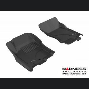 Nissan Xterra Floor Mats (Set of 2) - Front - Black by 3D MAXpider