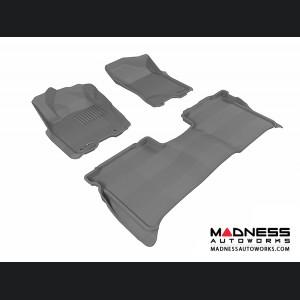 Nissan Titan Crew Cab Floor Mats (Set of 3) - Gray by 3D MAXpider