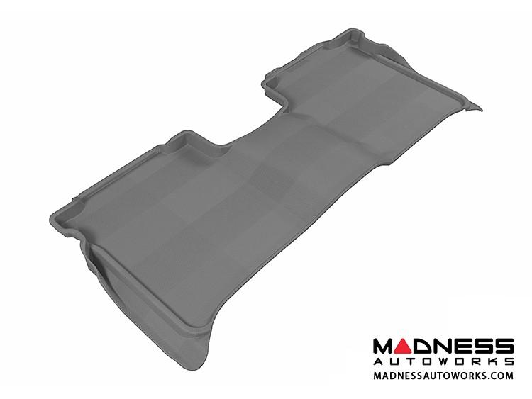 Nissan Titan Crew Cab Floor Mat - Rear - Gray by 3D MAXpider