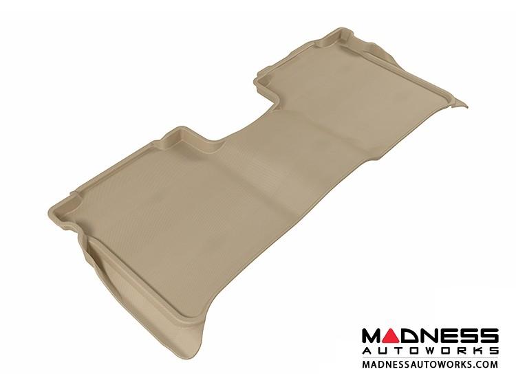 Nissan Titan Crew Cab Floor Mat - Rear - Tan by 3D MAXpider