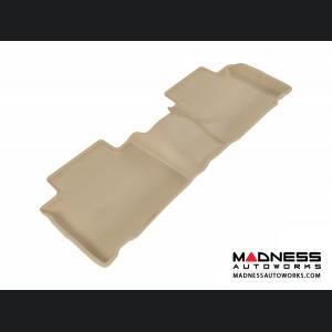 Nissan Rogue Floor Mat - Rear - Tan by 3D MAXpider