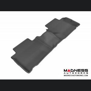 Nissan Rogue Floor Mat - Rear - Black by 3D MAXpider