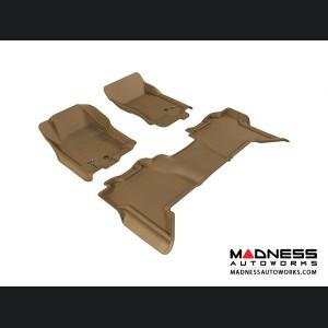Nissan Xterra Floor Mats (Set of 3) - Tan by 3D MAXpider