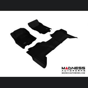 Nissan Xterra Floor Mats (Set of 3) - Black by 3D MAXpider