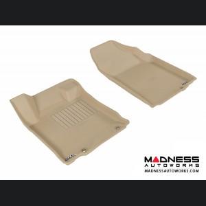 Nissan Altima Sedan Floor Mats (Set of 2) - Front - Tan by 3D MAXpider