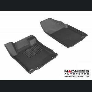 Nissan Altima Sedan Floor Mats (Set of 2) - Front - Black by 3D MAXpider