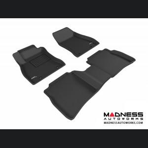 Nissan Sentra Floor Mats (Set of 3) - Black by 3D MAXpider