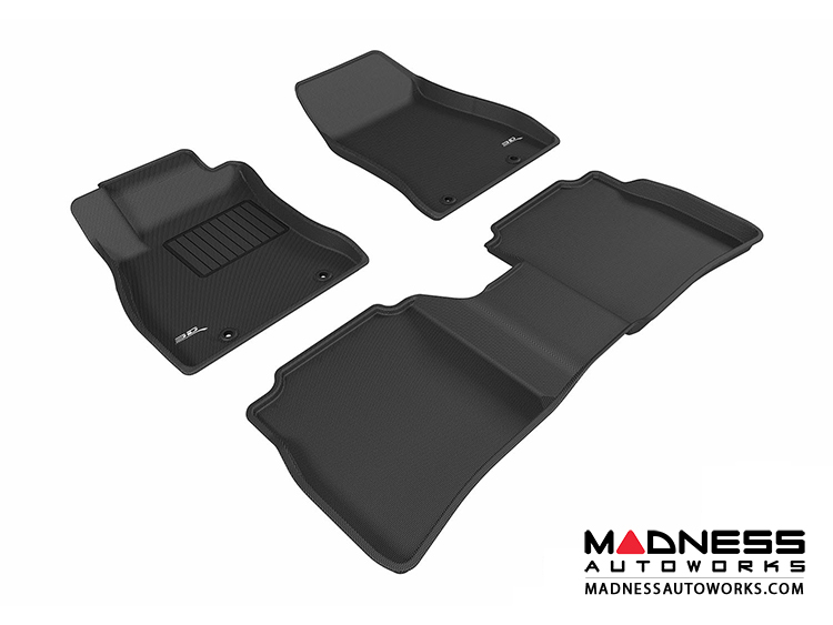 Nissan Sentra Floor Mats (Set Of 3)   Black By 3D MAXpider