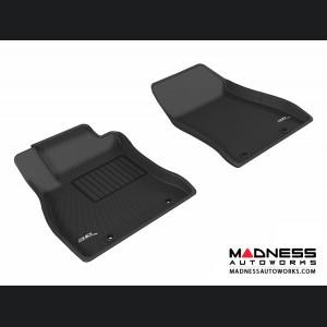 Nissan Sentra Floor Mats (Set of 2) - Front - Black by 3D MAXpider