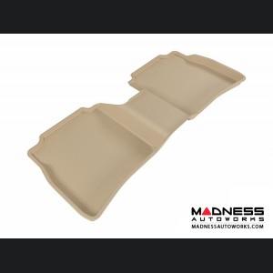 Nissan Sentra Floor Mat - Rear - Tan by 3D MAXpider