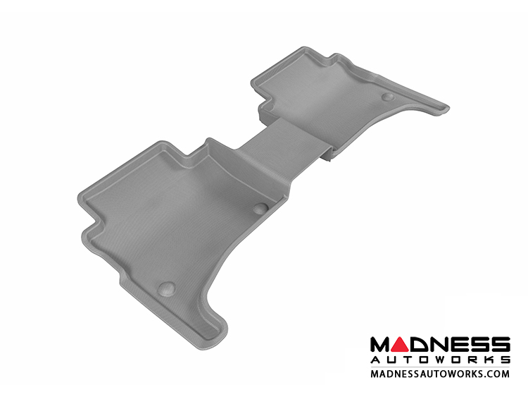 Volkswagen Touareg Floor Mat - Rear - Gray by 3D MAXpider