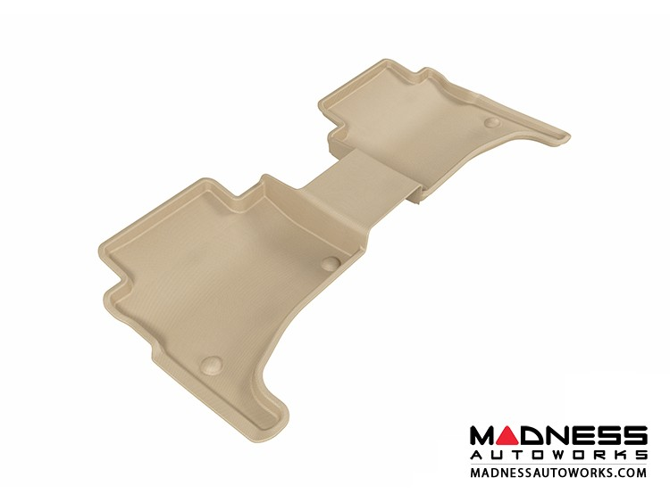 Volkswagen Touareg Floor Mat - Rear - Tan by 3D MAXpider