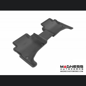 Volkswagen Touareg Floor Mat - Rear - Black by 3D MAXpider